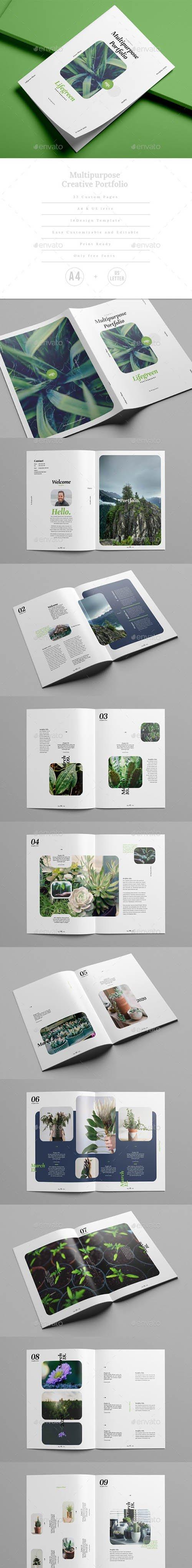 Multipurpose Creative Portfolio / Magazine 25407412