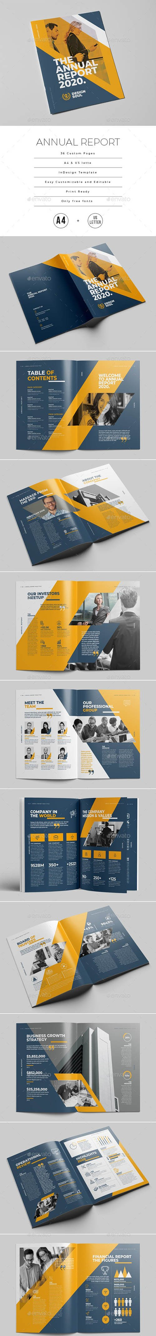 Annual Report Template 25379514