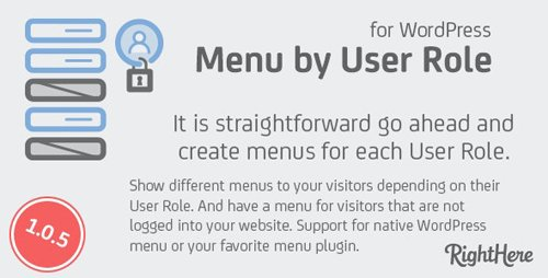 CodeCanyon - Menu by User Role for WordPress v1.0.5.81206 - 3127921