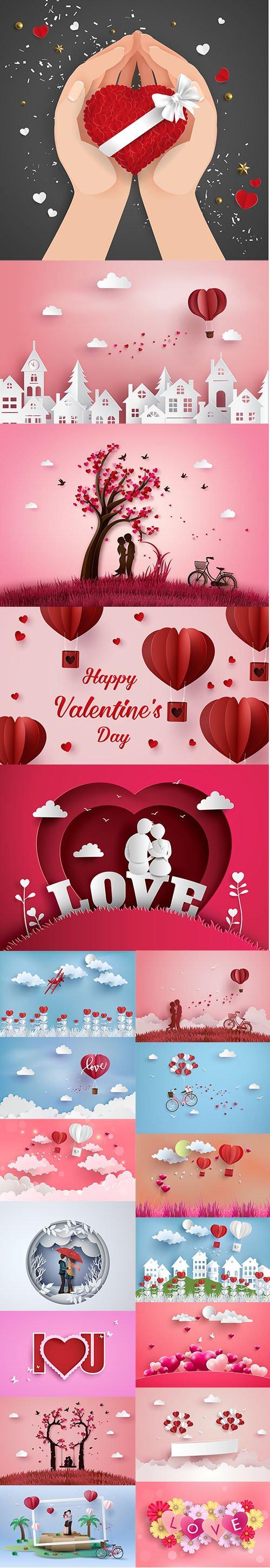 HAPPY VALENTINES DAY ILLUSTRATION SET VOL 9