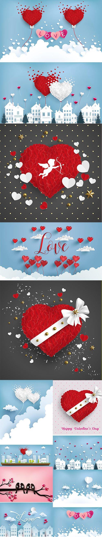 HAPPY VALENTINES DAY ILLUSTRATION SET VOL 11