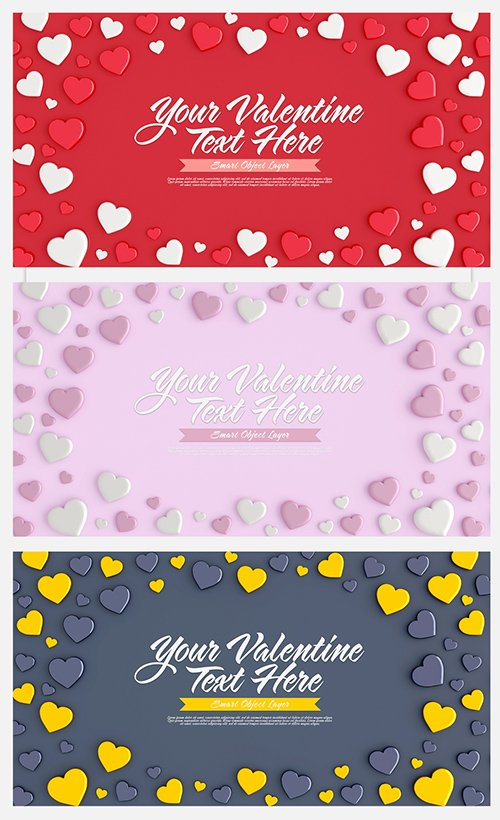 Valentine's Day Card Layout 314152160