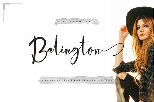 Balington Script