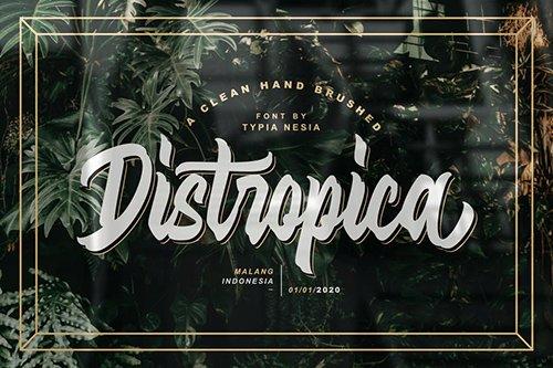 Distropica Display Font
