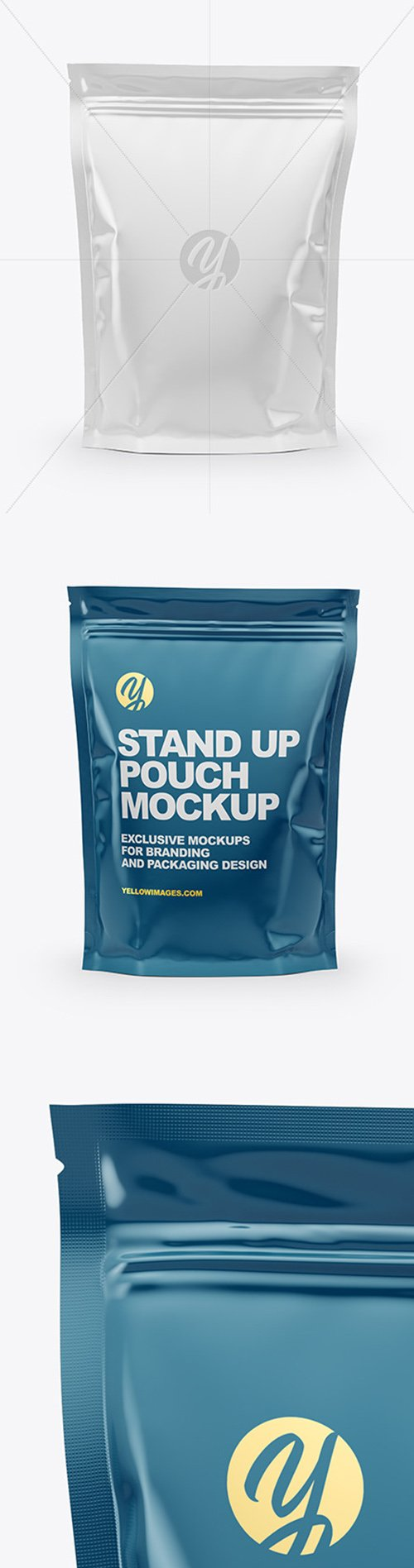 Glossy Stand Up Pouch Mockup 52292 TIF