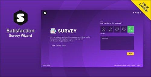 ThemeForest - Satisfyc v1.0.0 - Satisfaction Survey Form Wizard - 25475083