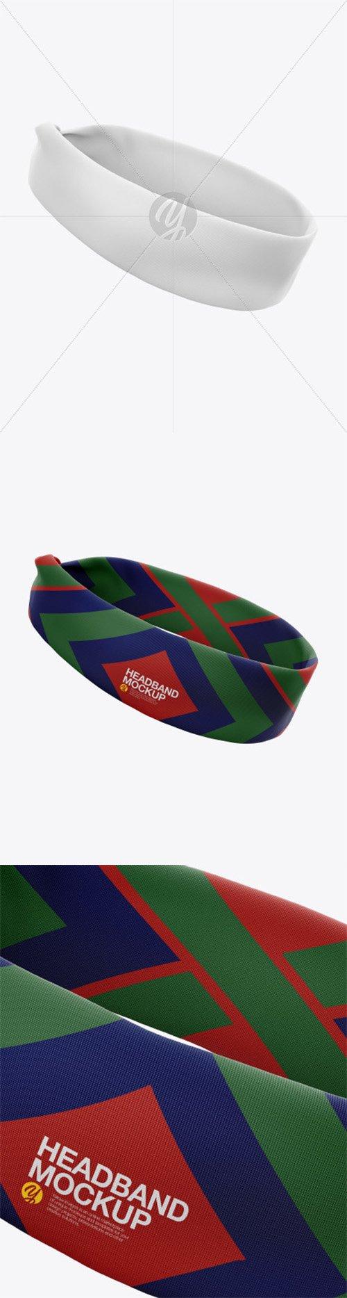Headband Mockup 52449 TIF