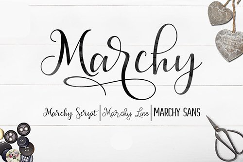 Marchy Script