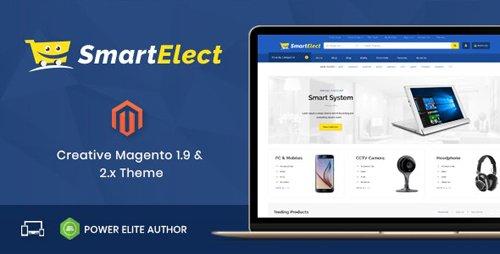 ThemeForest - SmartElect v1.0 - Responsive Magento 1 & 2 Theme - 21061802