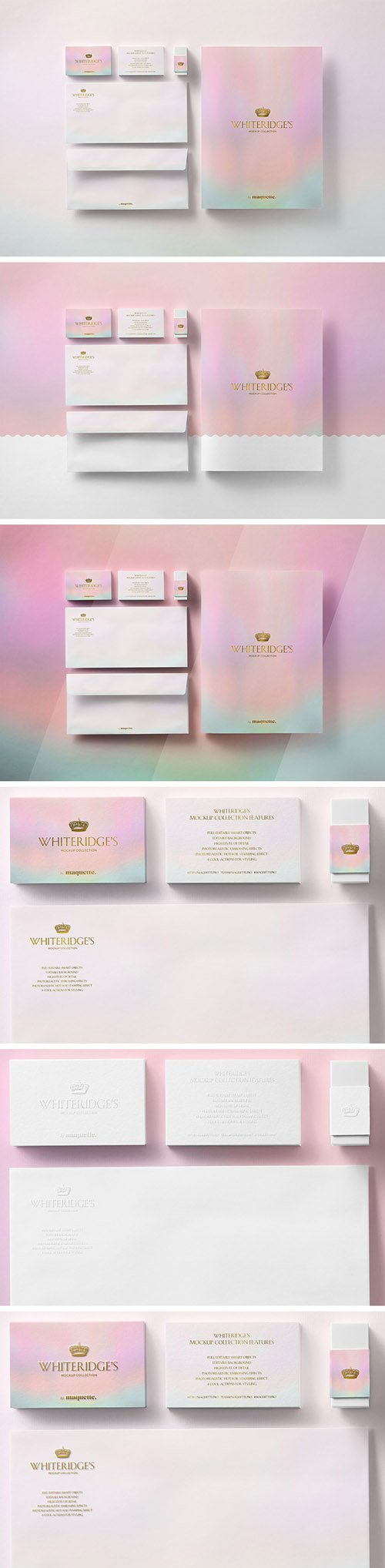 Luxury Gold-Embossed Corporate Stationery Mockup 12 130437267 PSDT