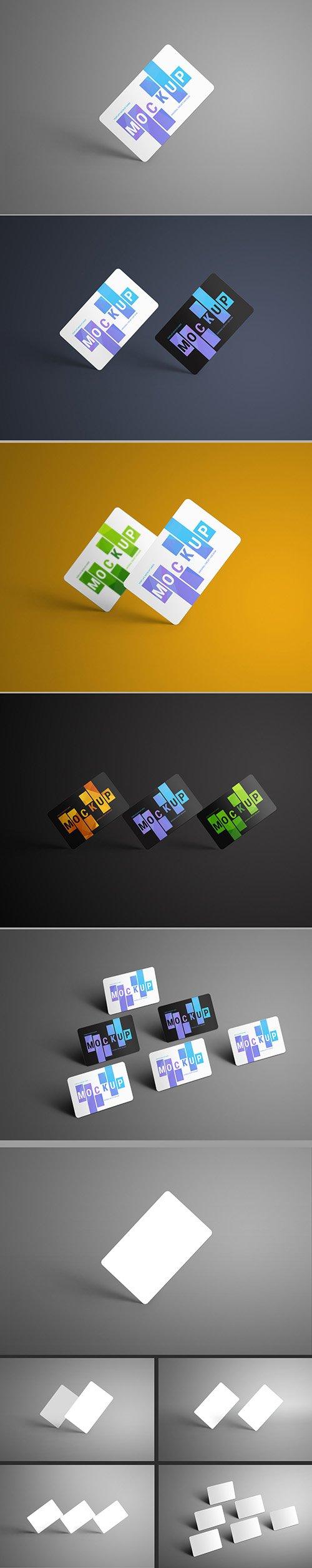5 Gift/Bank Card Mockup Layouts 199017070 PSDT