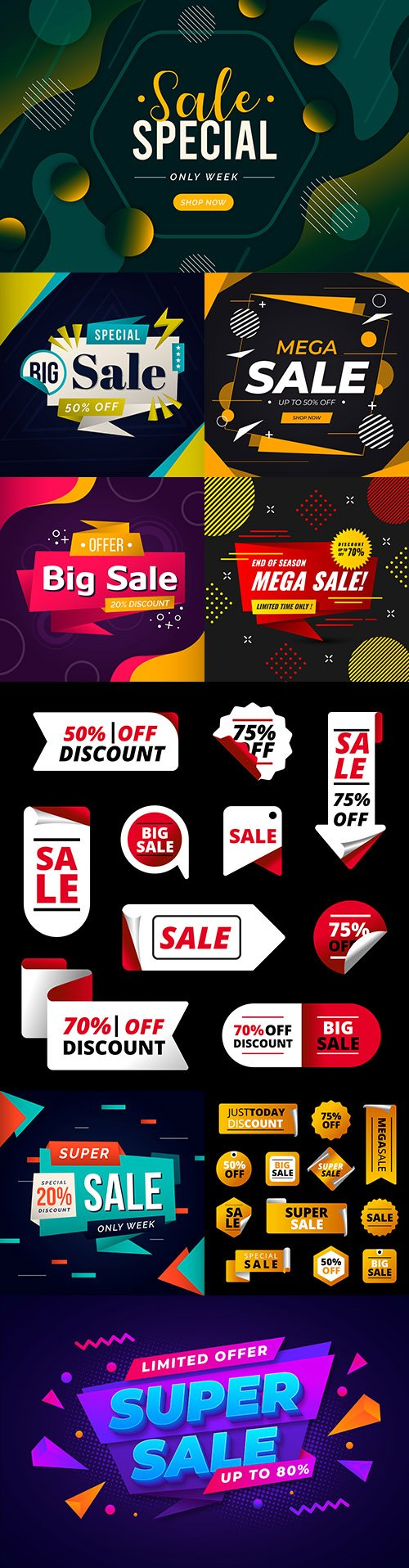 Mega sales and super discounts flat big collection 3
