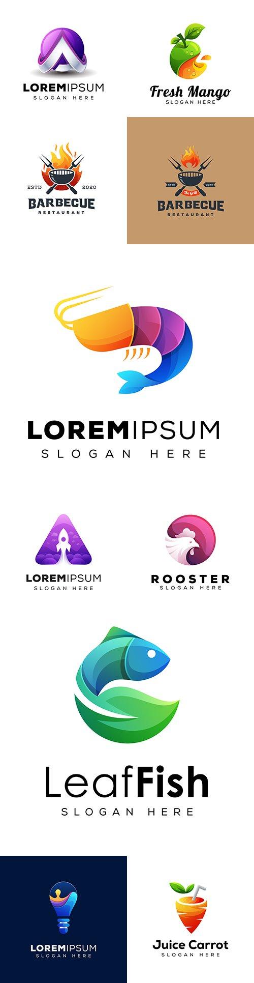 Creative business logos corporate company design 41