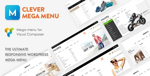 CodeCanyon - Clever Mega Menu for WPBakery Page Builder v1.0.10 - 19228144