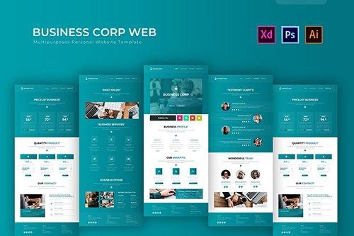 Business Corp | PSD Web Template