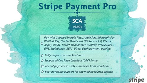 Stripe Payment Pro (SCA-ready) v4.1.5 - PrestaShop Module