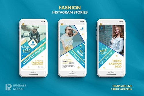 Fashion R4 Instagram Story Template