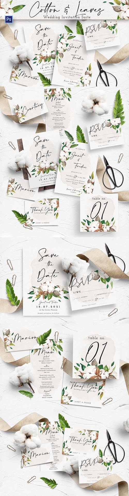 Cotton & Leaves Wedding Suite