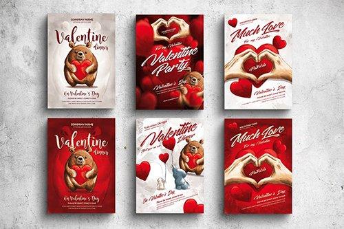 Valentine Posters & Cards Bundle