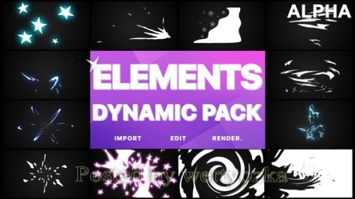 Videohive - Dynamic Elements | Motion Graphics Pack -  25499878