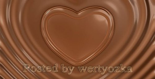 Videohive - Chocolate Valentine Heart -  6785433
