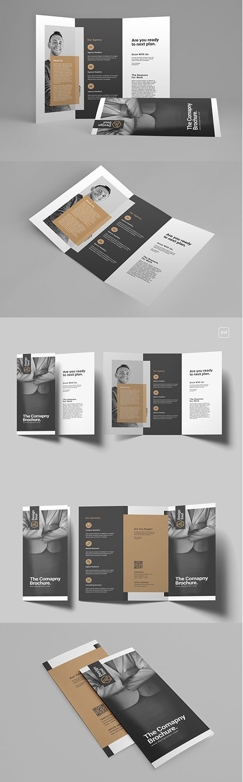 Trifold PSD Brochure