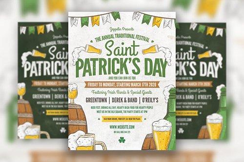 Saint Patrick's Day Flyer Template