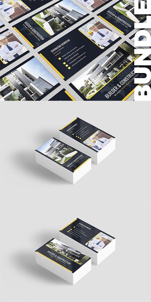 Business Card - Builder Bundle 2 in 1