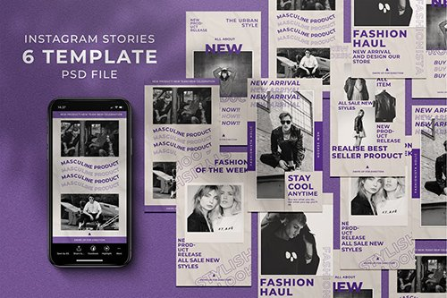 Purple Haul Instagram Stories