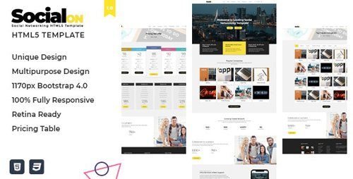 ThemeForest - Social Net v1.0 - Corporate Networking Connection HTML5 Template - 23583675