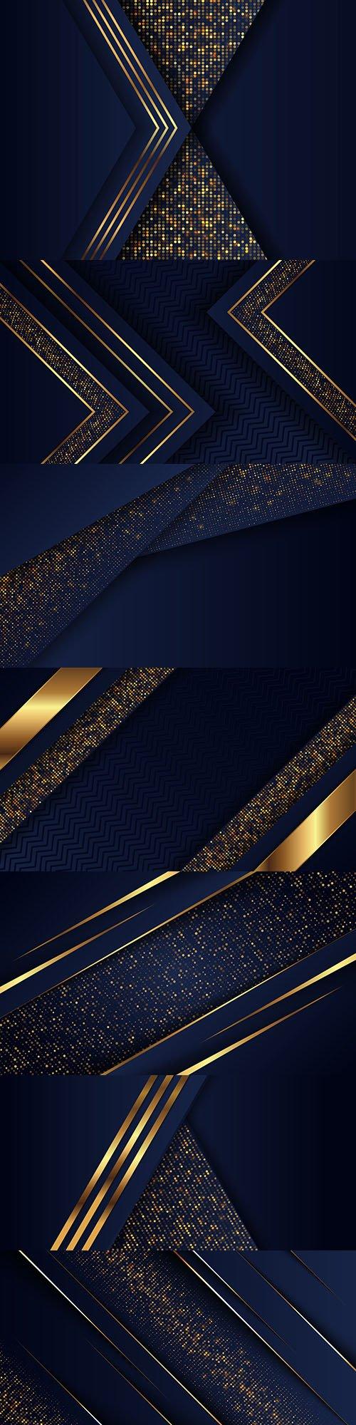 Luxury background and gold design decorative element 12