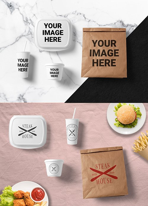 Food Packaging Mockups 174078846 PSDT
