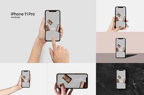 iPhone 11 Pro Mockup kit
