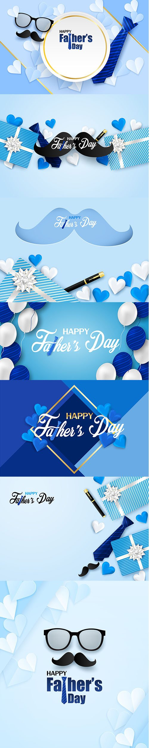 Backgrounds - Happy Fathers Day