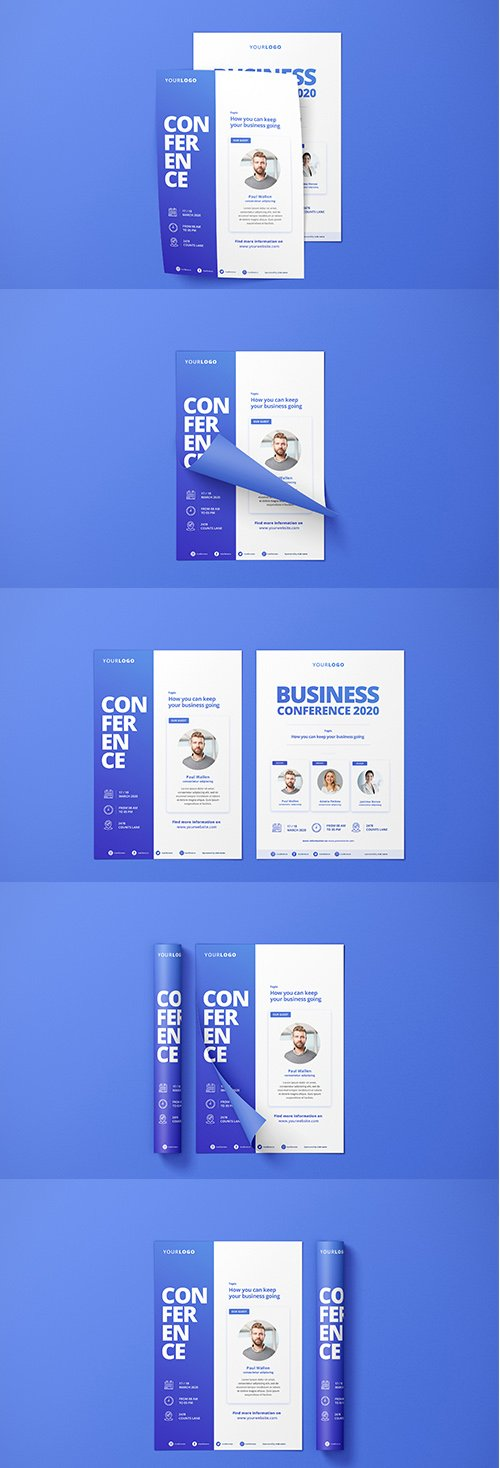 Creative Mockup Flyer Templates