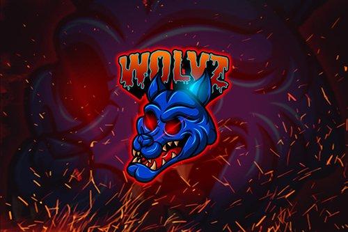 Wolvz - Esports Mascot Logo YR