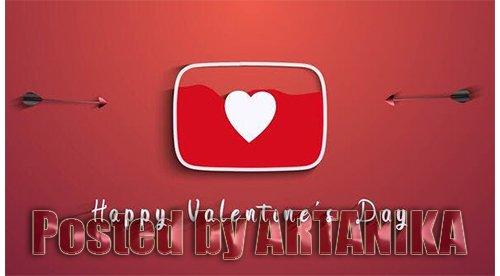 Valentine's Day (Youtube Logo) 25575812