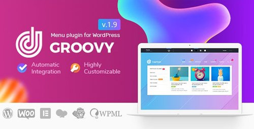 CodeCanyon - Groovy Mega Menu v1.9.8 - Responsive Mega Menu Plugin for WordPress - 23049456