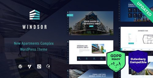 ThemeForest - Windsor v1.8.3 - Apartment Complex / Single Property WordPress Theme - 17622348