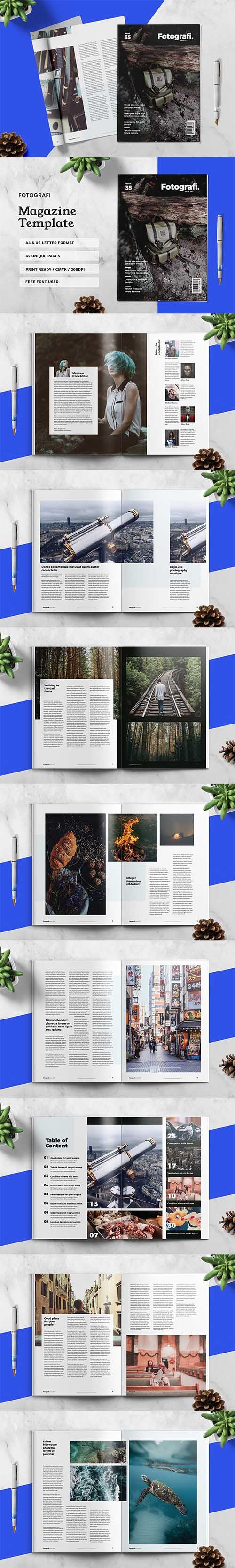 FOTOGRAFI - Magazine Template