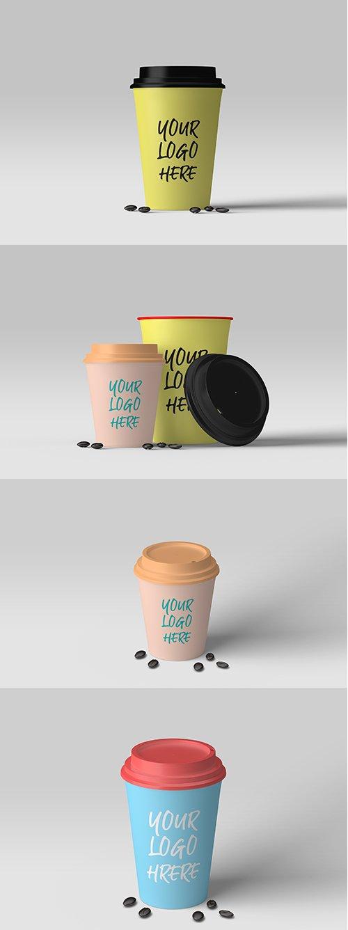 Coffee Cup Mockup Set