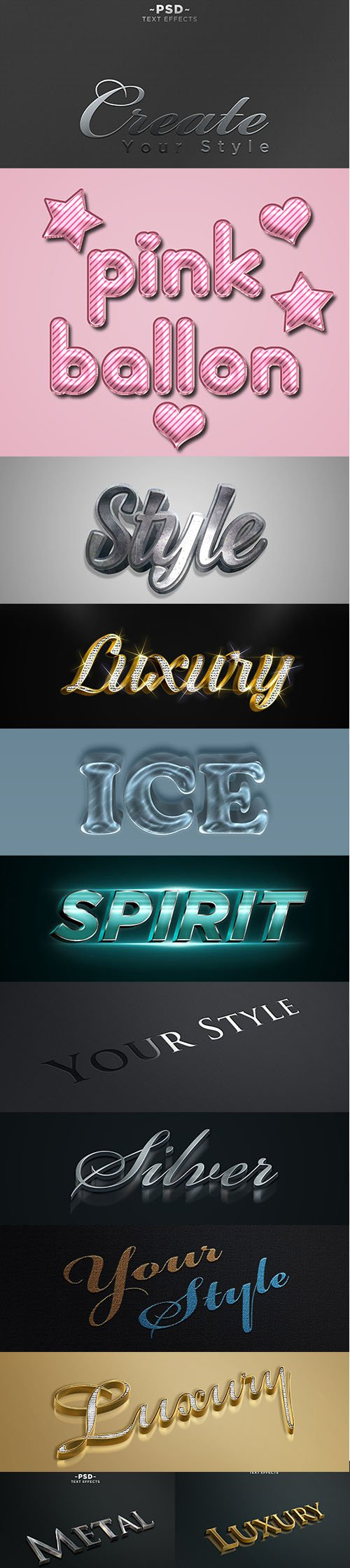 Amazing Text Effect Pack