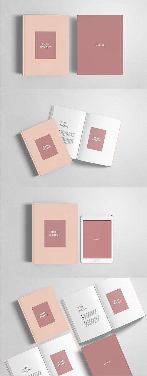Book Cover Mockup Set