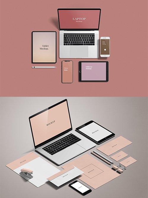 Multi Devices Mockup Set