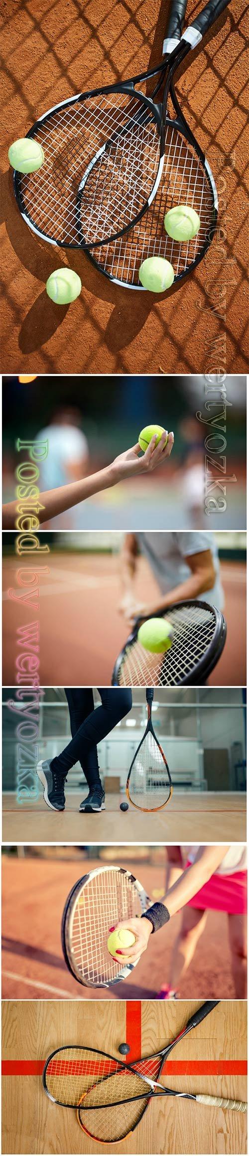 Tennis beautiful stock photo