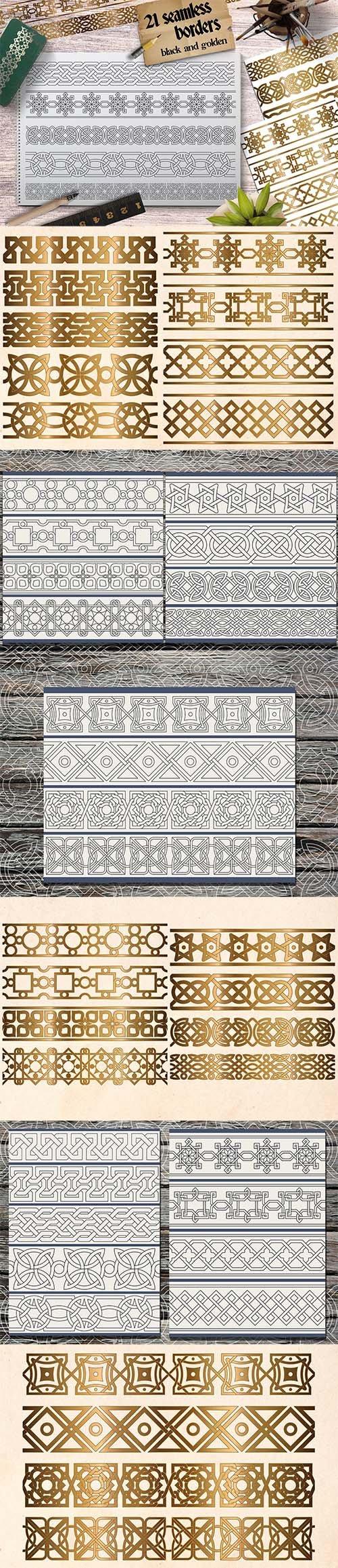 Decorative Seamless Borders