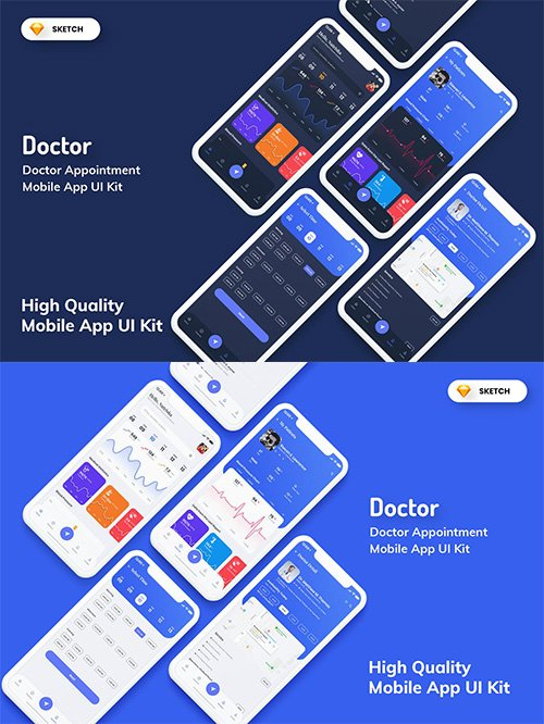 Doctor Appointment Mobile App UI