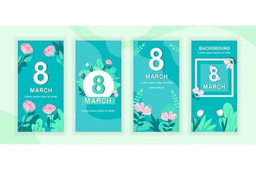 Womens Day Instagram Stories Social Media Template