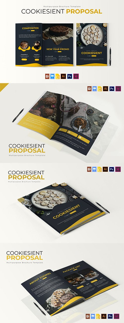 Cookiesient   Brochure Template