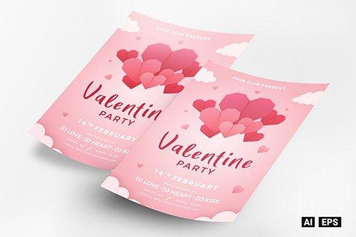 Valentine Party Flyer